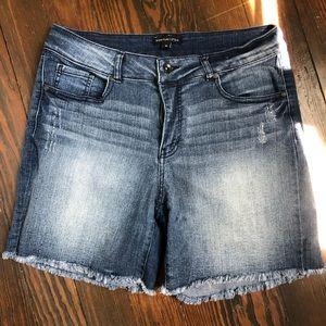 Cut off jean shorts!  EUC! Size 12.